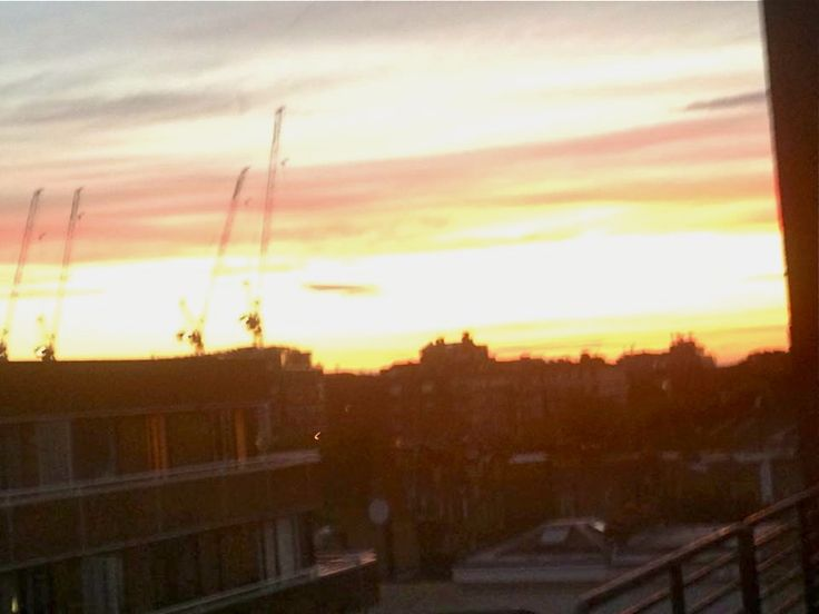 A view at sunset from my home