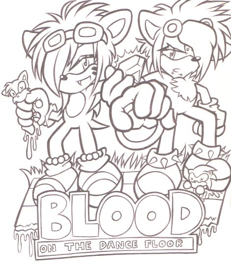 blood on the dance floor drawings | botdf Colouring Pages
