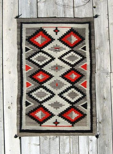 CIR1890S Churro Hubbell Navajo Rug Native American Indian Blanket Navaho Textile