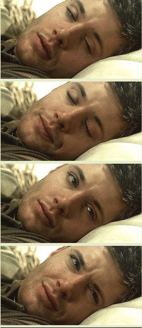 [GIFSET] Feast your eyes.---pretty sure I'd think I'd gone to heaven if I woke up to that face #deanwinchester