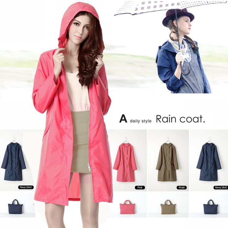 New High Quality Raincoat Women/Female Rain Suit Poncho Thin Waterproof Outdoor Fashion Long Travel rain coat Chubasqueros mujer