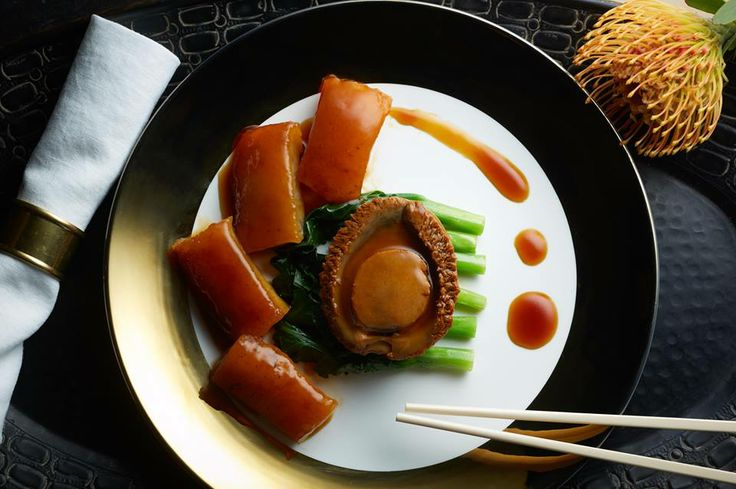 ... abalone sea cucumber 3 pieces of sea cucumber braised abalone and sea