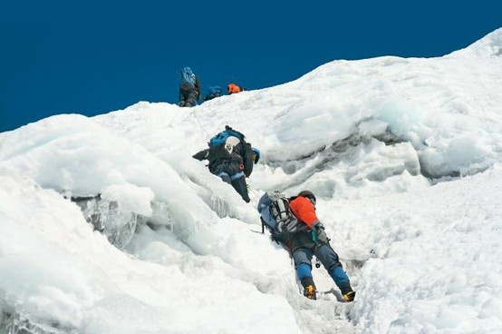 mountaineering is the great adventure sports offering in Nepal..