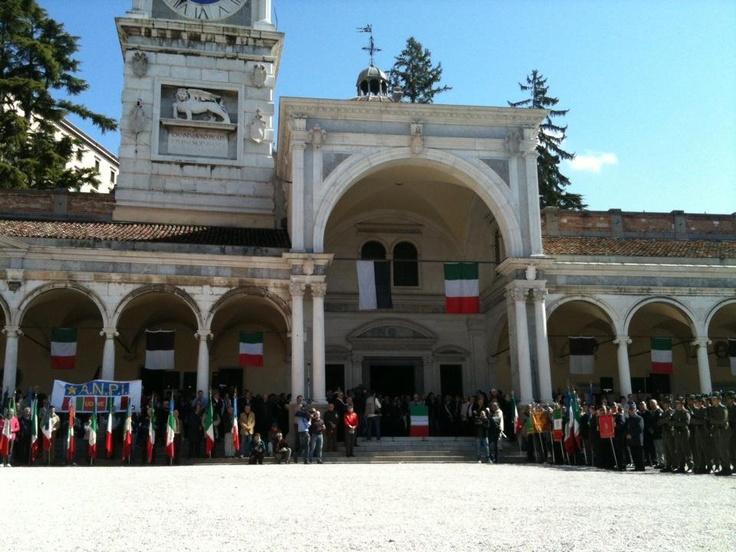 Dalla celebrazione di Udine buon 25 aprile a tutti! - Udine, 25 aprile 2012