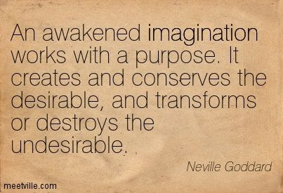 neville goddard imagination quotes