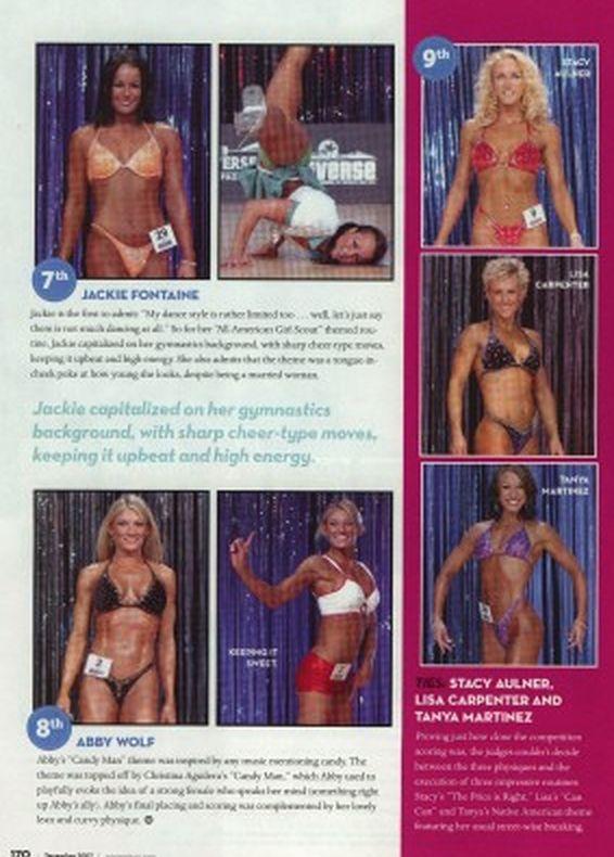 Top 10 Fitness Universe Oxygen Magazine Recap