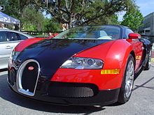 Bugatti Veyron - Wikipedia, the free encyclopedia  Don't like the red, however!  sw