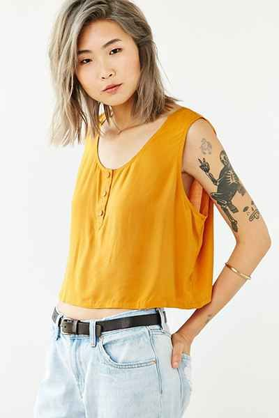 Cooperative Sun Down Boxy Tank Top - Urban Outfitters