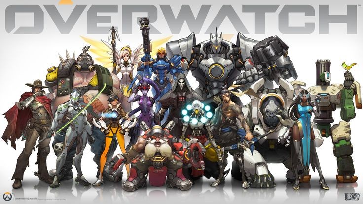 overwatch Canvas Wall Poster