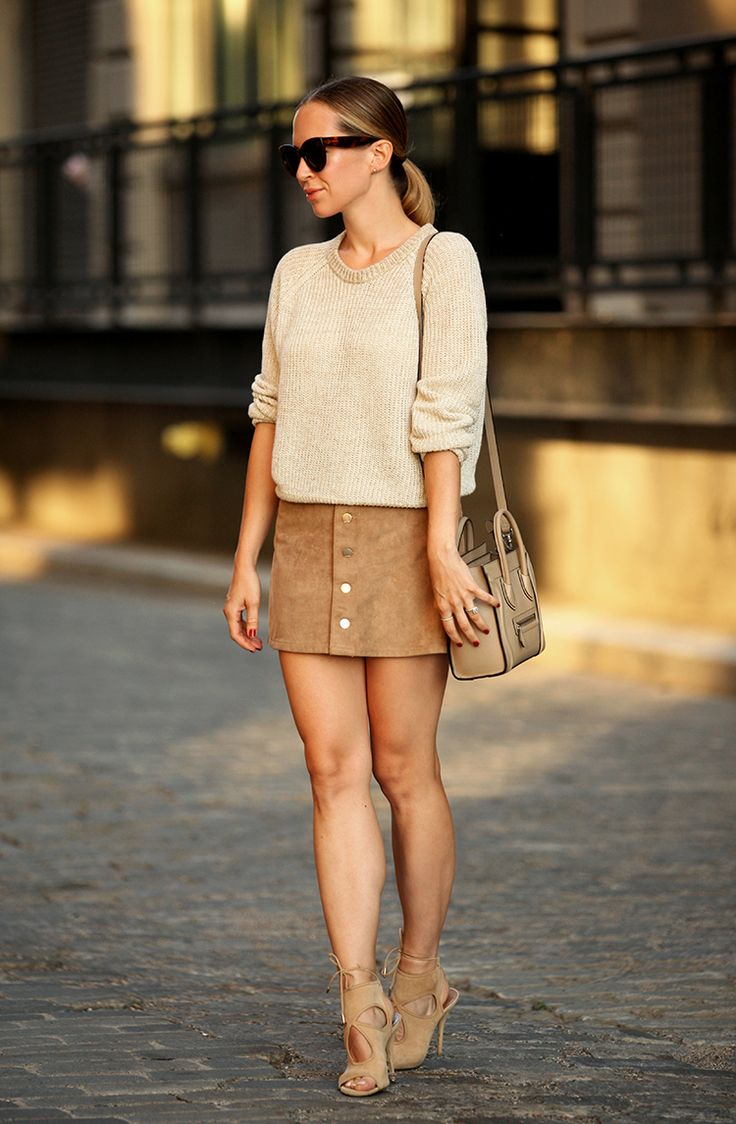 Ecstasy Models — Monochromatic Neutrals Skirt: Express (less than...