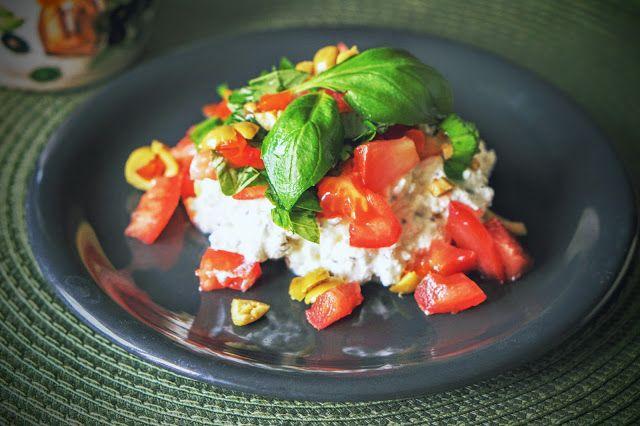Fit & Fast Kitchen: Twarożek na sposób śródziemnomorski