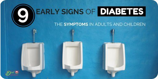 The early signs of diabetes can go unnoticed for years. In fact, 1 in 3 people don't know they have it. These are common symptoms of undiagnosed diabetes for both adults and children.