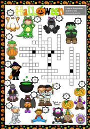 Fantastic Halloween Crossword Puzzles for upper Elementary Students ~~ This website has several crossword puzzles to choice from in both color and black line option. This would make a great activity for Halloween parties.