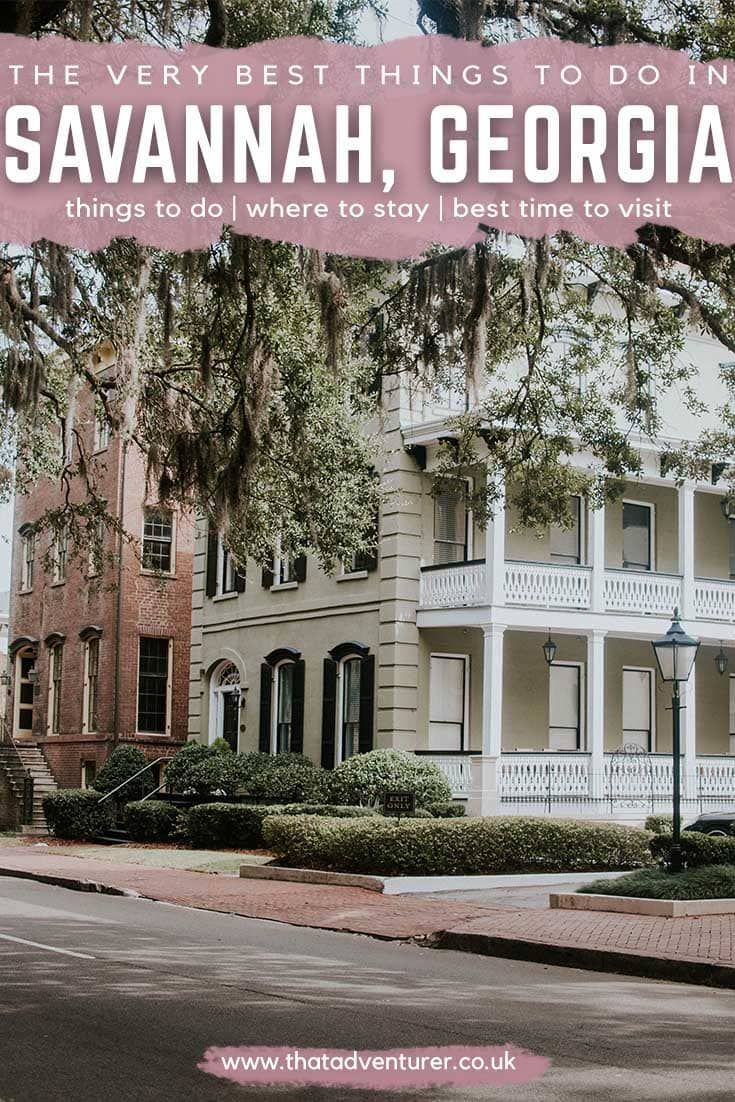 The Best Things To Do In Savannah Georgia Savannah Chat Savannah Hotels Best Hotels