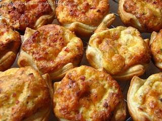 Koekje van eigen deeg: Mini quiche: Ham en kaas