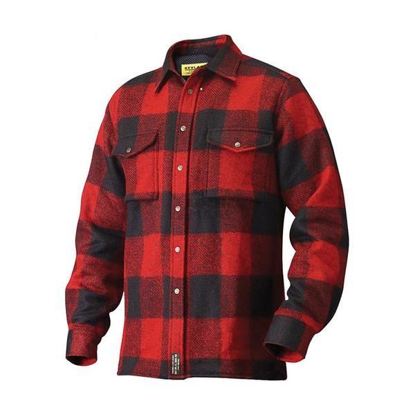 John - Doe ® Skjorte med Kevlar ® -100 % Dupont ™ Kevlar ® ( Made In Germany ) JD Windblock ® funksjonen sikrer optimal pusteevne , selv ved høye hastigheter. Rød/sort.
