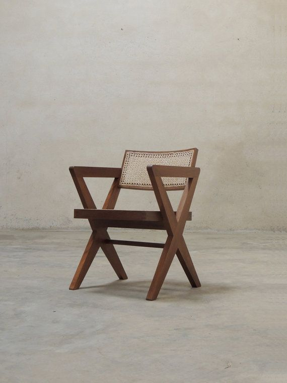 Pierre Jeanneret Cross Leg Chair (X legs)