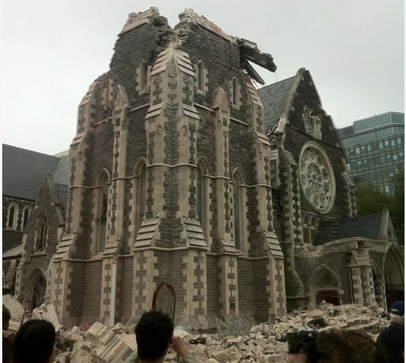 This is what the cathedral now looks like and soon it will be gone.....
