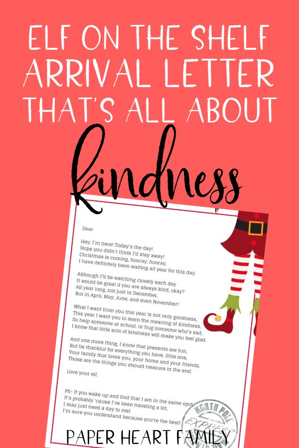 Arrival Ideas For Elf On The Shelf- Welcome Letter   Welcome letters, Elf on the shelf, Elf