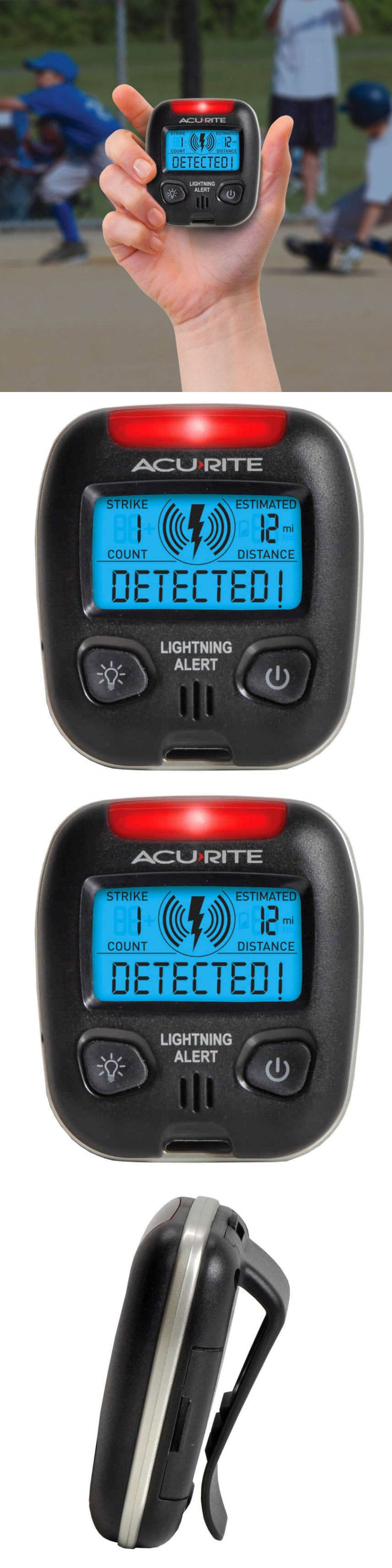 Compasses and GPS 52482: Acurite 02020 Portable Lightning Detector BUY IT NOW ONLY: $37.23