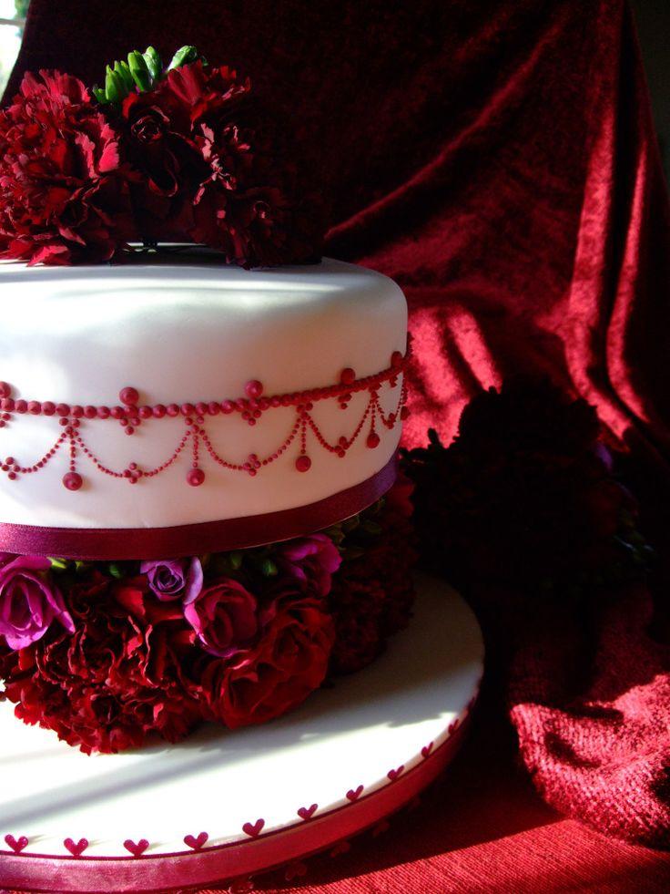 Ruby Wedding Cake | cool cakes | Pinterest | Wedding ...