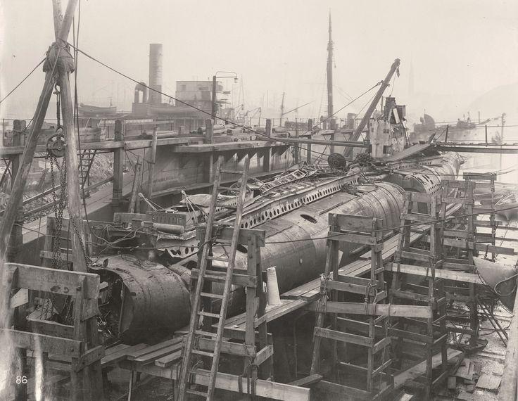 19 lipca 1918 roku UB-110 roku zaatakował konwój statków handlowych w pobliżu Hartlepool. Niemiecka jednostka spotkała się z odpowiedzią okrętów Królewskiej Marynarki Wojennej. UB-110 został obrzucony bombami głębinowymi, a kiedy wypłynął na powierzchnię, dwukrotnie staranował go niszczyciel HMS Garry.