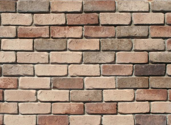 Tumbled Thin Brick Veneer (Color: Old Country)