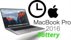 Macbook Pro : Macbook Pro 2016 | How to get your MacBook Pro battery to last 24 hours