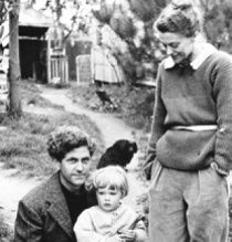 John and Sunday Reed with Sweeney, Joy's son adopted by the Reeds.