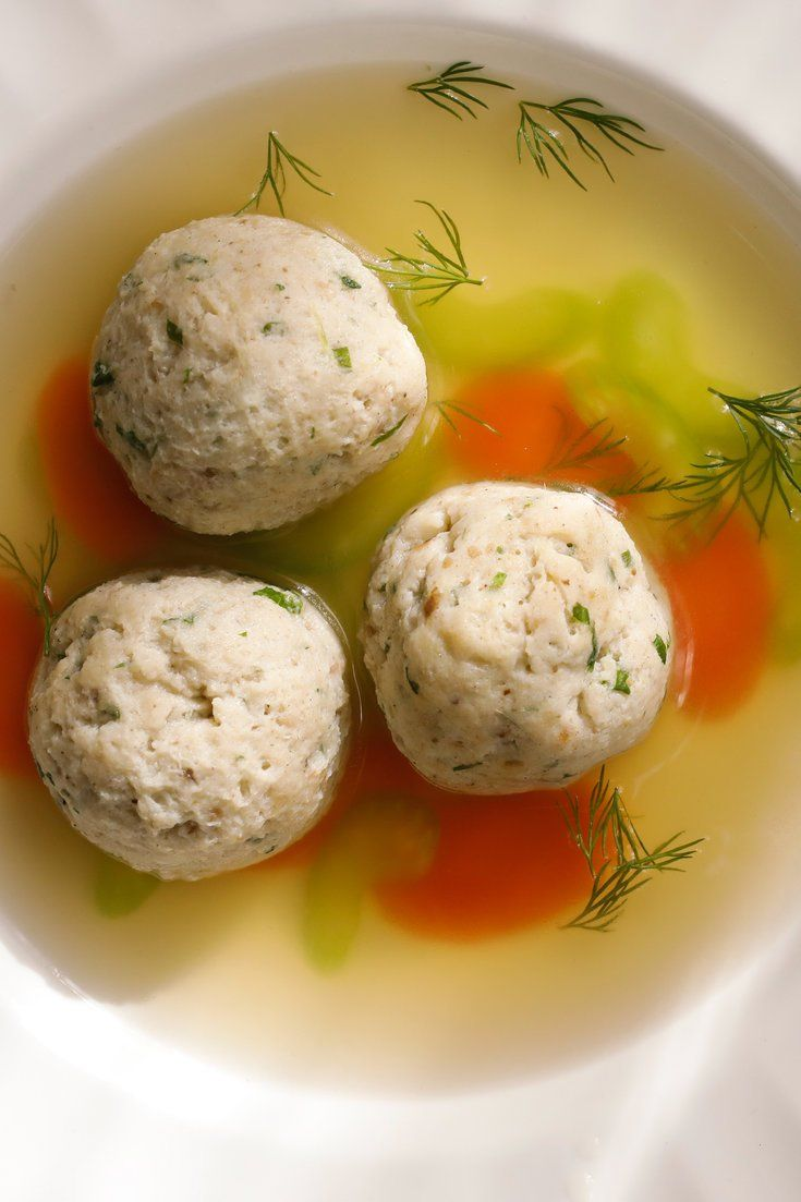 NYT Cooking: For children (and arguably most adults), the most welcome Passover dish is chicken soup with matzo balls. My matzo balls, neither heavy as lead nor light as a feather, are al dente, infused with fresh ginger and nutmeg. I like to freeze them, and the soup, in advance.