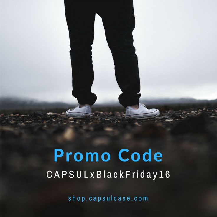 Black Friday   You don't see it... But it makes your life easier! #capsulcase