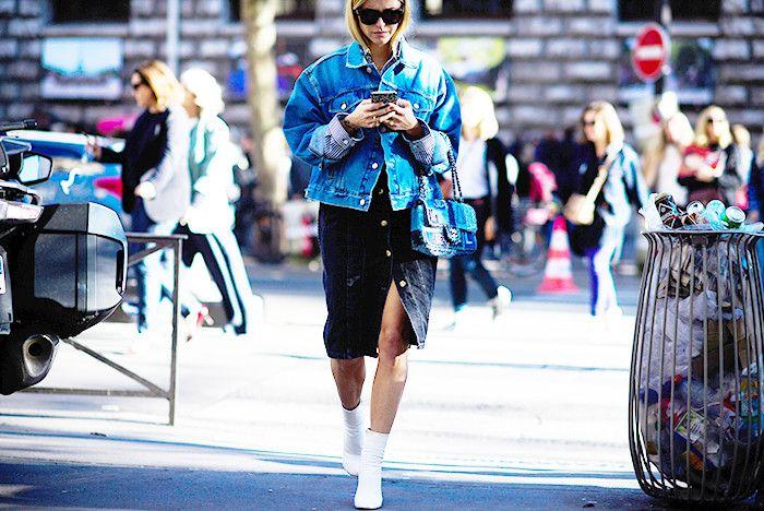 The One Item Everyone Is Wearing in Paris Right Now via @WhoWhatWearUK