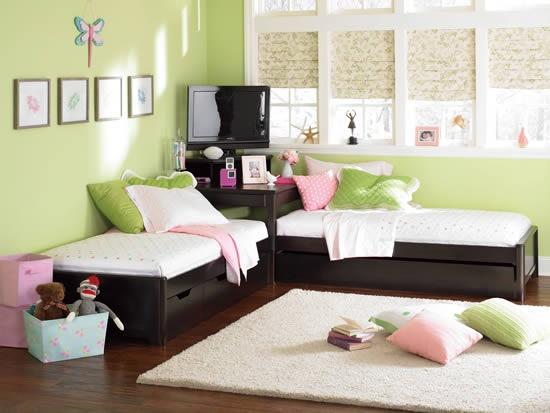 corner beds for kids