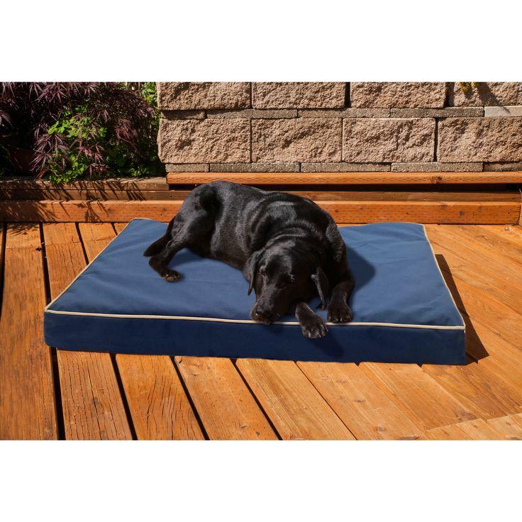 Furhaven NAP Indoor/Outdoor Deluxe Memory Foam Orthopedic Dog Bed