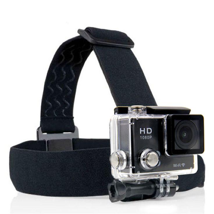 Action Camera Gopro Accessories Headband Headstrap Professiona Mount Tripod Helmet For SJCAM Go Pro Hero 3/4 XiaoYi Sport Cam