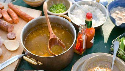 Print out this recipe for the best gumbo you'll ever taste #recipe #food