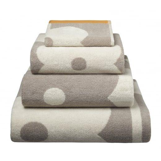 Orla Kiely Abacus Flower Mushroom Towels