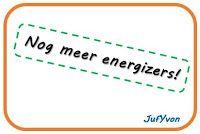 JufYvon: Nog meer energizers