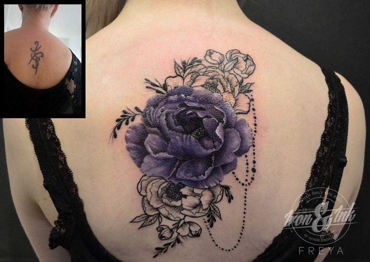 cover- tattoo flowers
