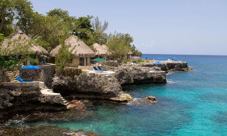 The Rockhouse in Jamaica is 'the friendliest fashionable hotel I've ever known,' says Decca Aitkenhead. Photograph: Alamy