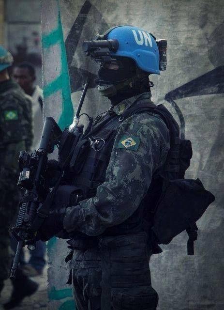 so Brazilian Army Soldier (UN Peacekeeper)