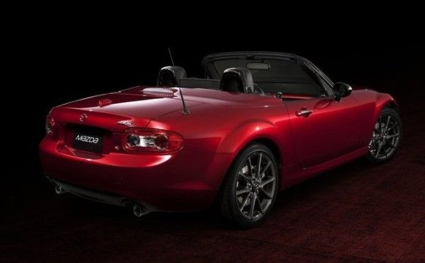 2014 Mazda MX 5 25th Anniversary Images 600x372 2014 Mazda MX 5 25th Anniversary Review