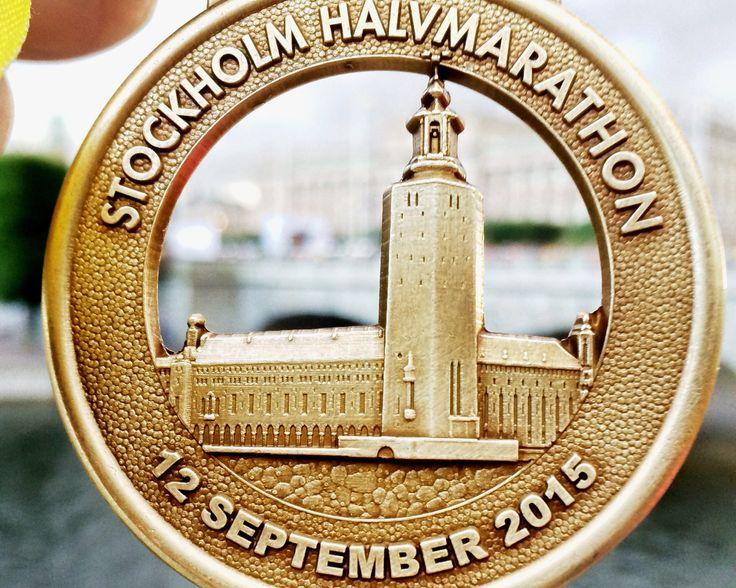 Stockholm Halvmaraton - underbart!!