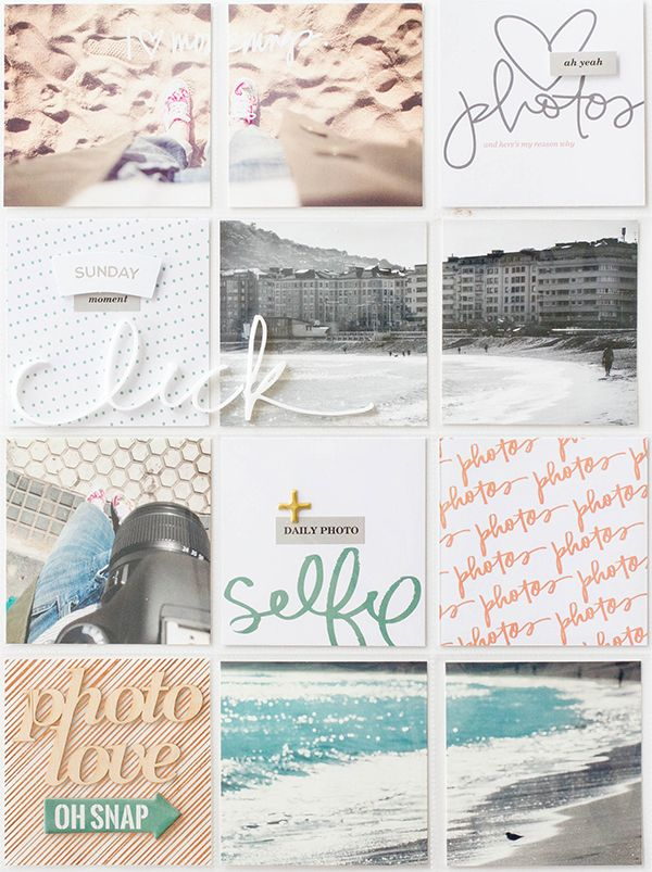 Marivi Pazos Photography & Scrap: project life : click