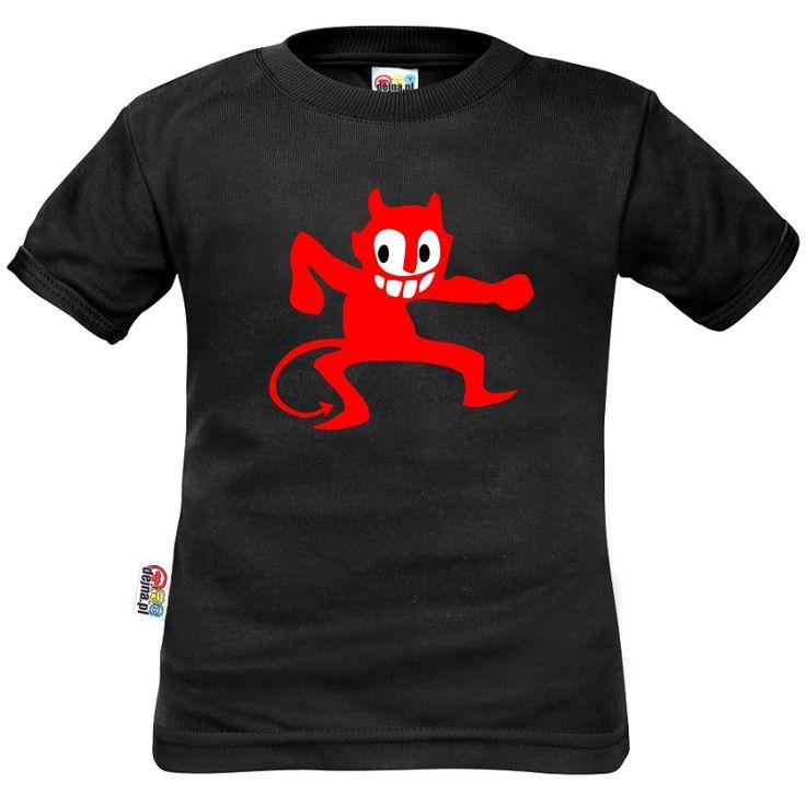 Tee shirt enfant: petit diable - Pour Halloween - Family In Black