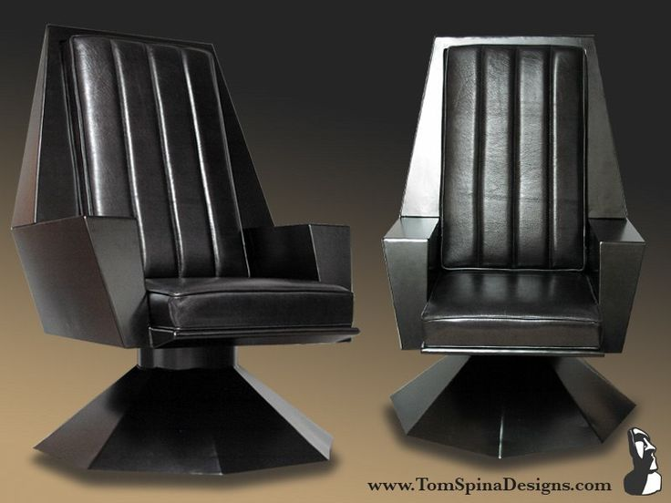 recreation of The Emperor's throne from Star Wars - this would be perfect  for a home