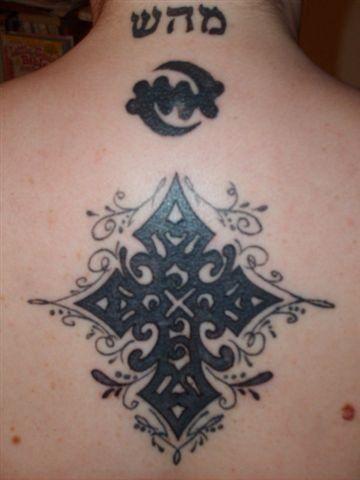kreuz tattoo 536