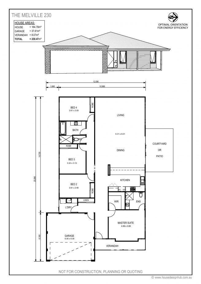 Best 25 australian house plans ideas on pinterest one for Affordable energy efficient home plans
