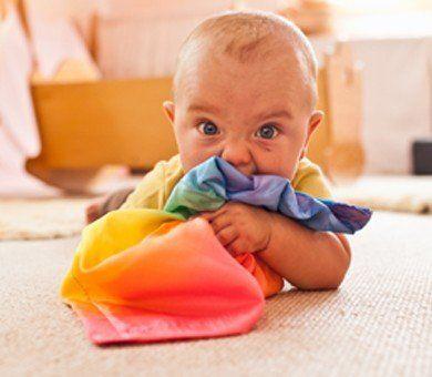 Sarah's Silks Baby Lovey - Rainbow