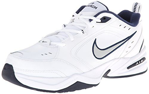 newest c9c7a bc5be NIKE Men s Air Monarch IV Athletic Shoe, white metallic silver, 10.0  Regular US Yeswecoupon.com